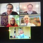 Productiva reunión de APIS con ministro de Salud Enrique Paris